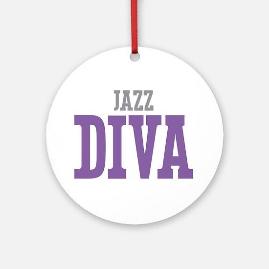 Jazz DIVA Ornament (Round)