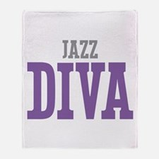 Jazz DIVA Throw Blanket