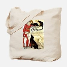 Cat Dog Lady pets Tote Bag
