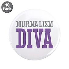 "Journalism DIVA 3.5"" Button (10 pack)"