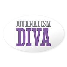 Journalism DIVA Decal