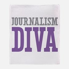 Journalism DIVA Throw Blanket