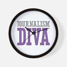 Journalism DIVA Wall Clock