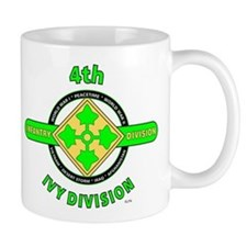 4TH Infantry Division Ivy Mug