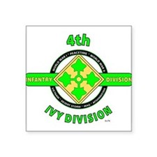 4TH Infantry Division Ivy Sticker