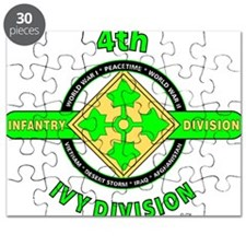 4TH Infantry Division Ivy Puzzle