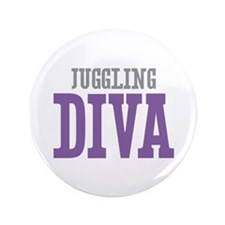 """Juggling DIVA 3.5"""" Button (100 pack)"""