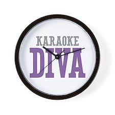 Karaoke DIVA Wall Clock