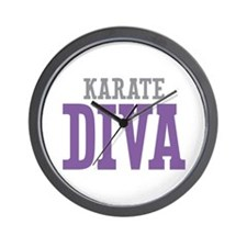 Karate DIVA Wall Clock