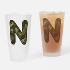 N Army Drinking Glass