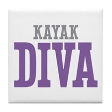 Kayak DIVA Tile Coaster