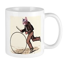 Big Wheel Cat Mug