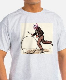 Big Wheel Cat T-Shirt