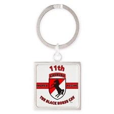 11TH ARMORED CAVALRY REGIMENT Keychains