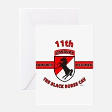 11TH ARMORED CAVALRY REGIMENT Greeting Card