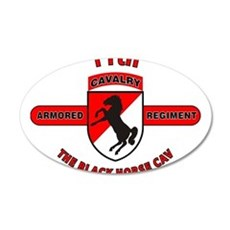 11TH ARMORED CAVALRY REGIMENT Wall Decal