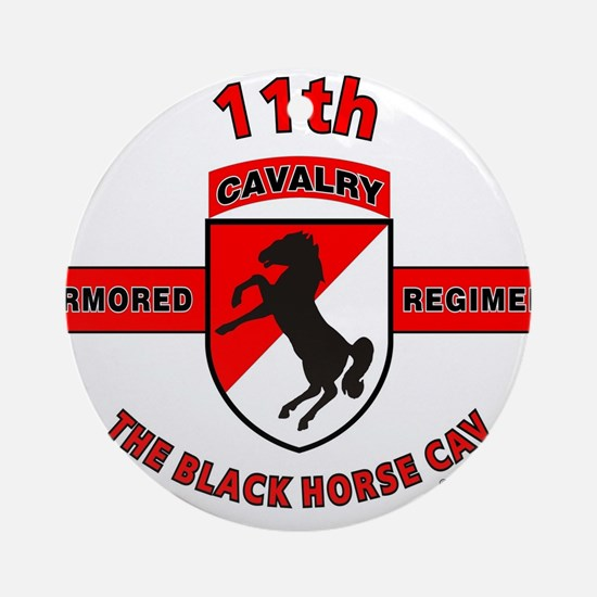 11TH ARMORED CAVALRY REGIMENT Ornament (Round)