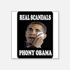 PHONY OBAMA Sticker