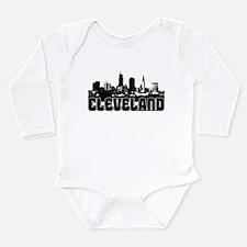 Cleveland Skyline Long Sleeve Infant Bodysuit