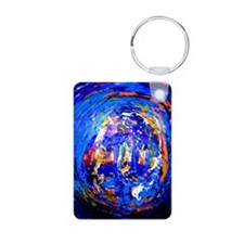 Abstract Acrylic Keychains