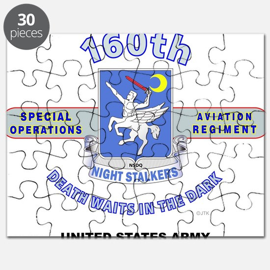 160TH SPECIAL OPERATIONS AVIATION REGIMENT Puzzle