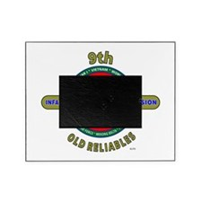 "9th Infantry Division""Old Reliables"" Army Picture Frame"