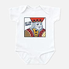 Blackjack Infant Bodysuit