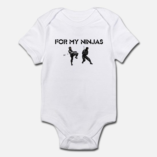 For My Ninjas Infant Bodysuit
