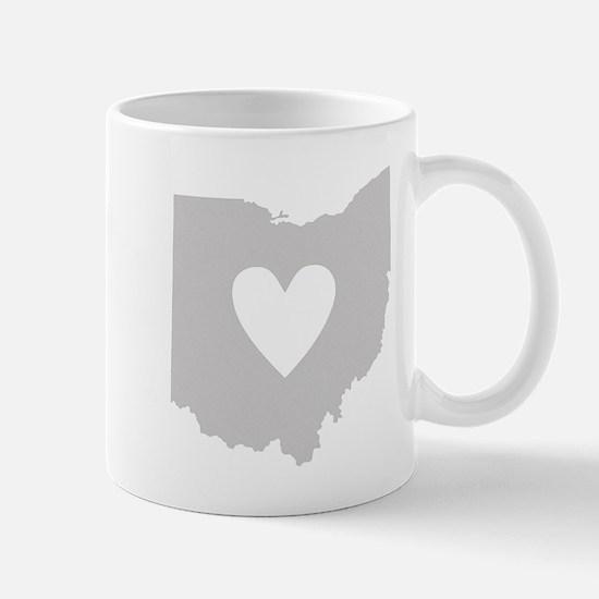 Heart Ohio Mug