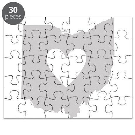 Heart Ohio Puzzle