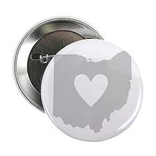 "Heart Ohio 2.25"" Button"
