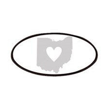 Heart Ohio Patches