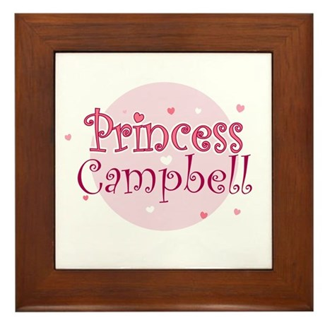 Campbell Framed Tile