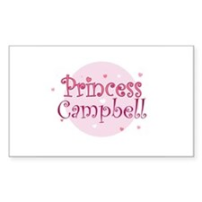 Campbell Rectangle Decal