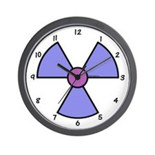 XRay Wall Clock - Blue Lavender