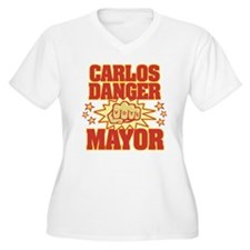 Carlos Danger for Mayor Plus Size T-Shirt
