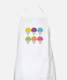 Colorful Snow Cones Apron