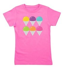 Colorful Snow Cones Girl's Tee