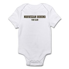Norwegian Buhund Fan Club Infant Bodysuit