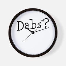 Dabs1 Wall Clock