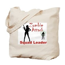 Zombie Squad Ldr. - Woman Tote Bag