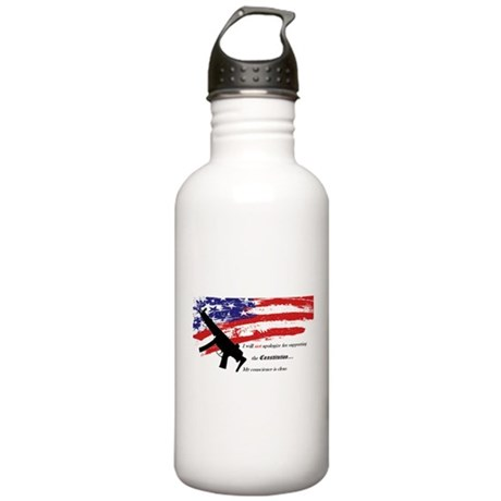 Support the Constitution Water Bottle