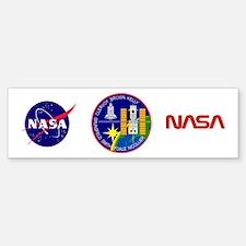 STS-103 Discovery Bumper Bumper Sticker