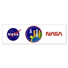 STS-103 Discovery Bumper Sticker