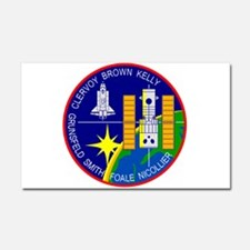 STS-103 Discovery Car Magnet 20 x 12