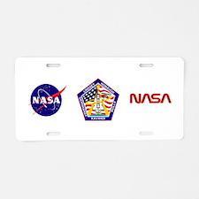 STS-104 Atlantis Aluminum License Plate