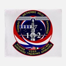 STS-102 Throw Blanket