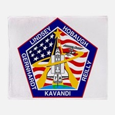 STS-104 Atlantis Throw Blanket