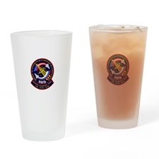 STS-105 Discovery Drinking Glass