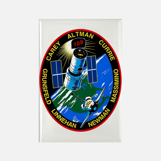 STS-109 Columbia Rectangle Magnet